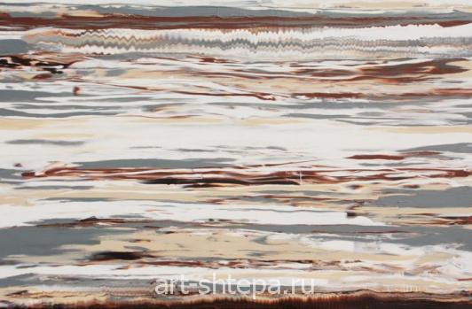 Картина жидким акрилом - 2014
